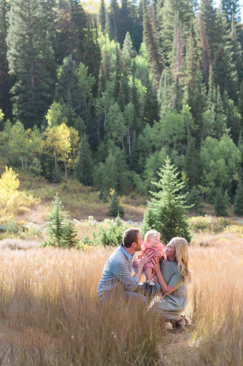 Photography at Jordan Pines in Big Cottonwood Canyon