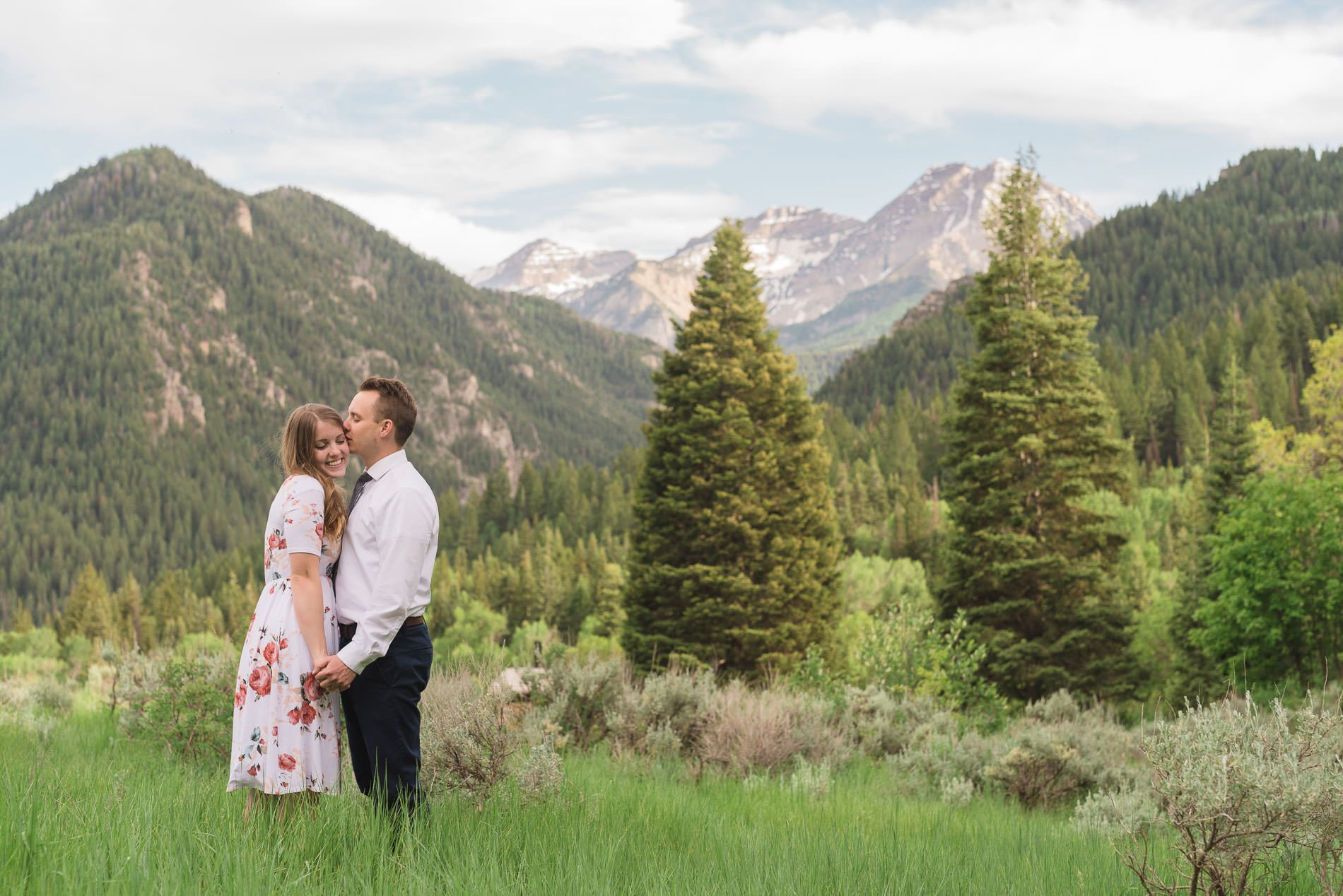 Beautiful Engagement Photography at Tibble Fork Reservoir