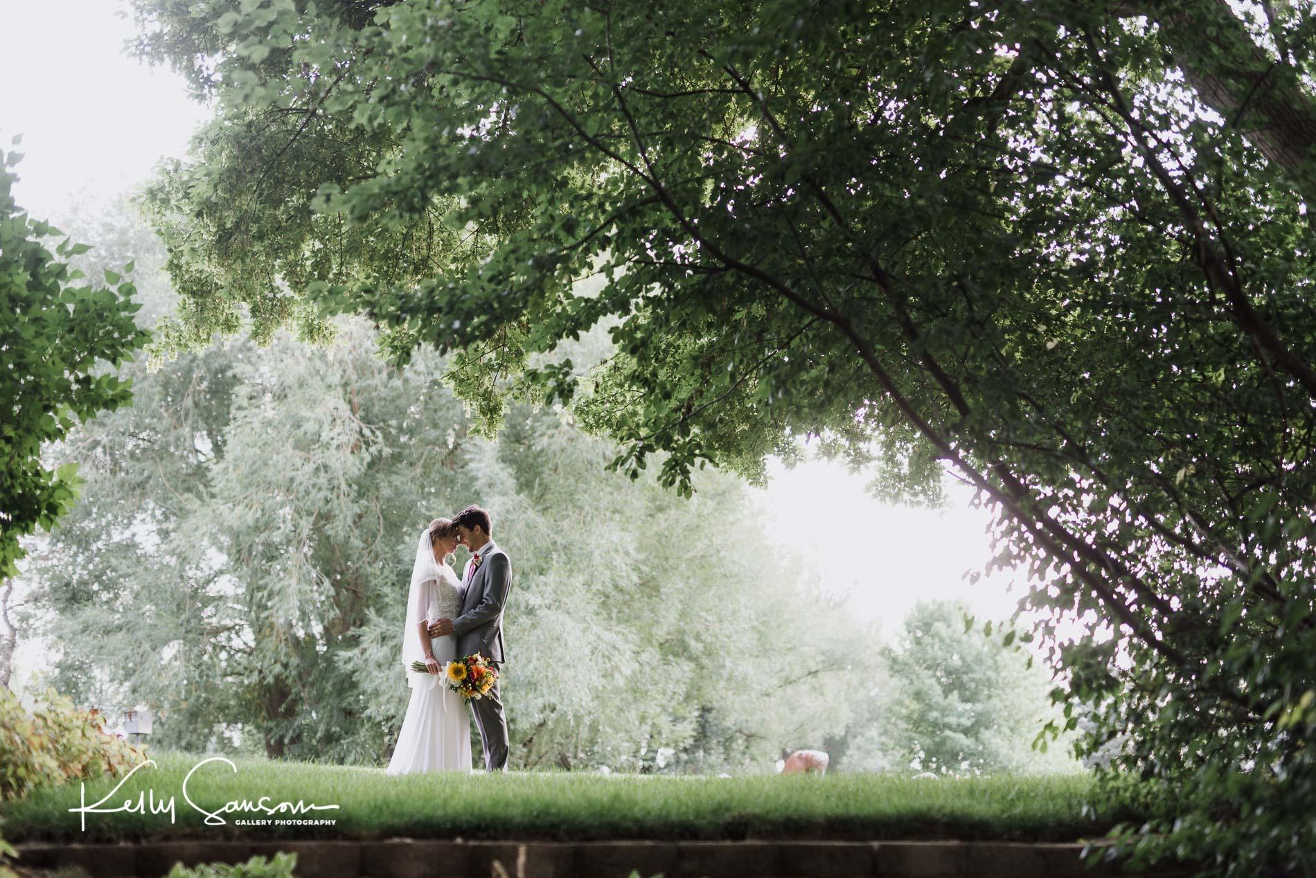 Megan and Max : Alpine Art Center Wedding