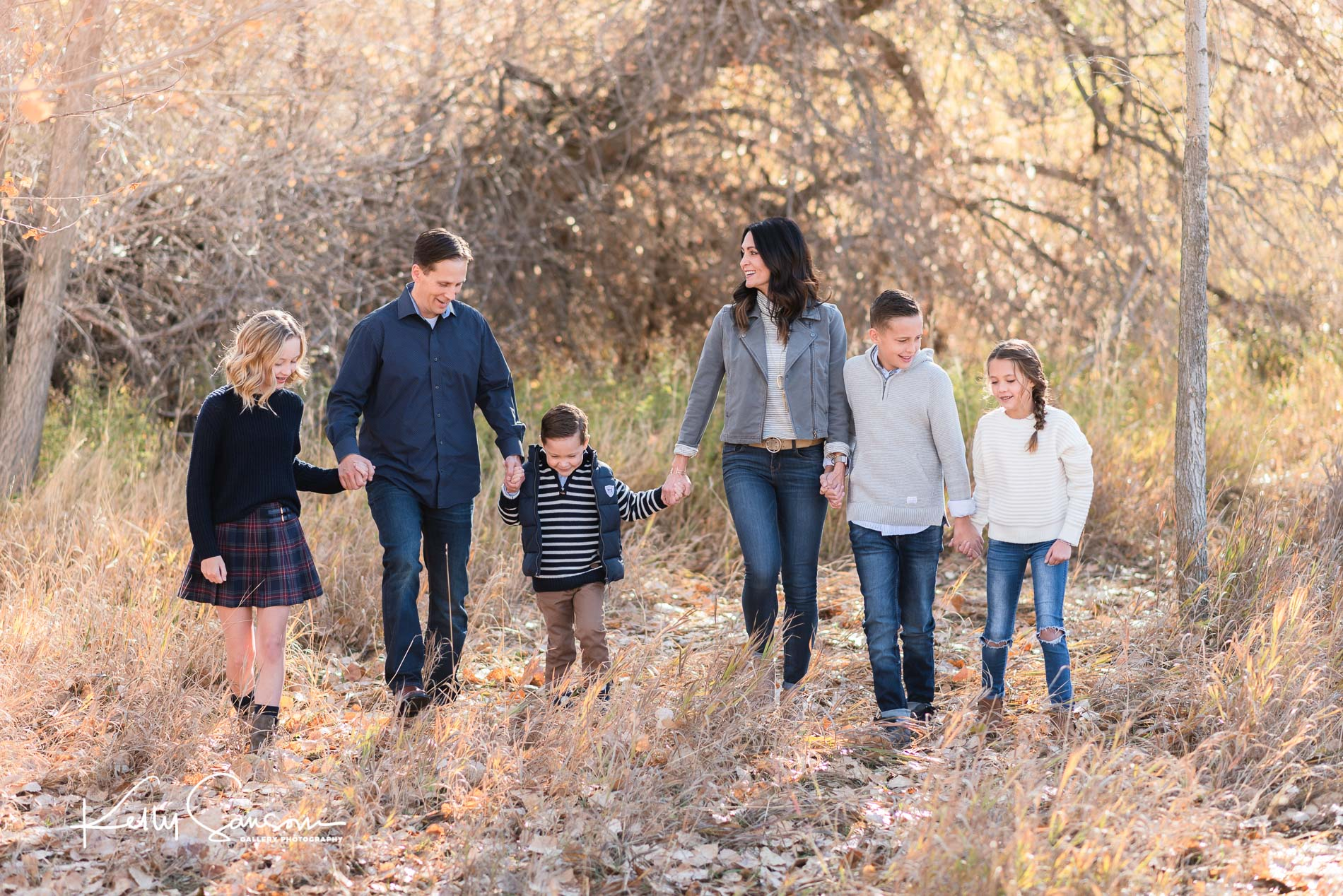 Oaks Family Photography at Kays Creek Parkway