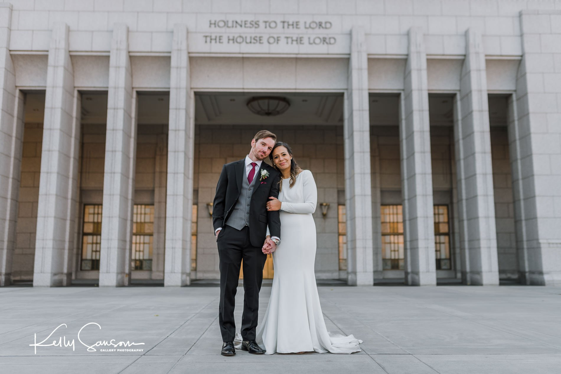 Amanda and Trent Wedding Photography at the Draper Temple and Noah's South Jordan