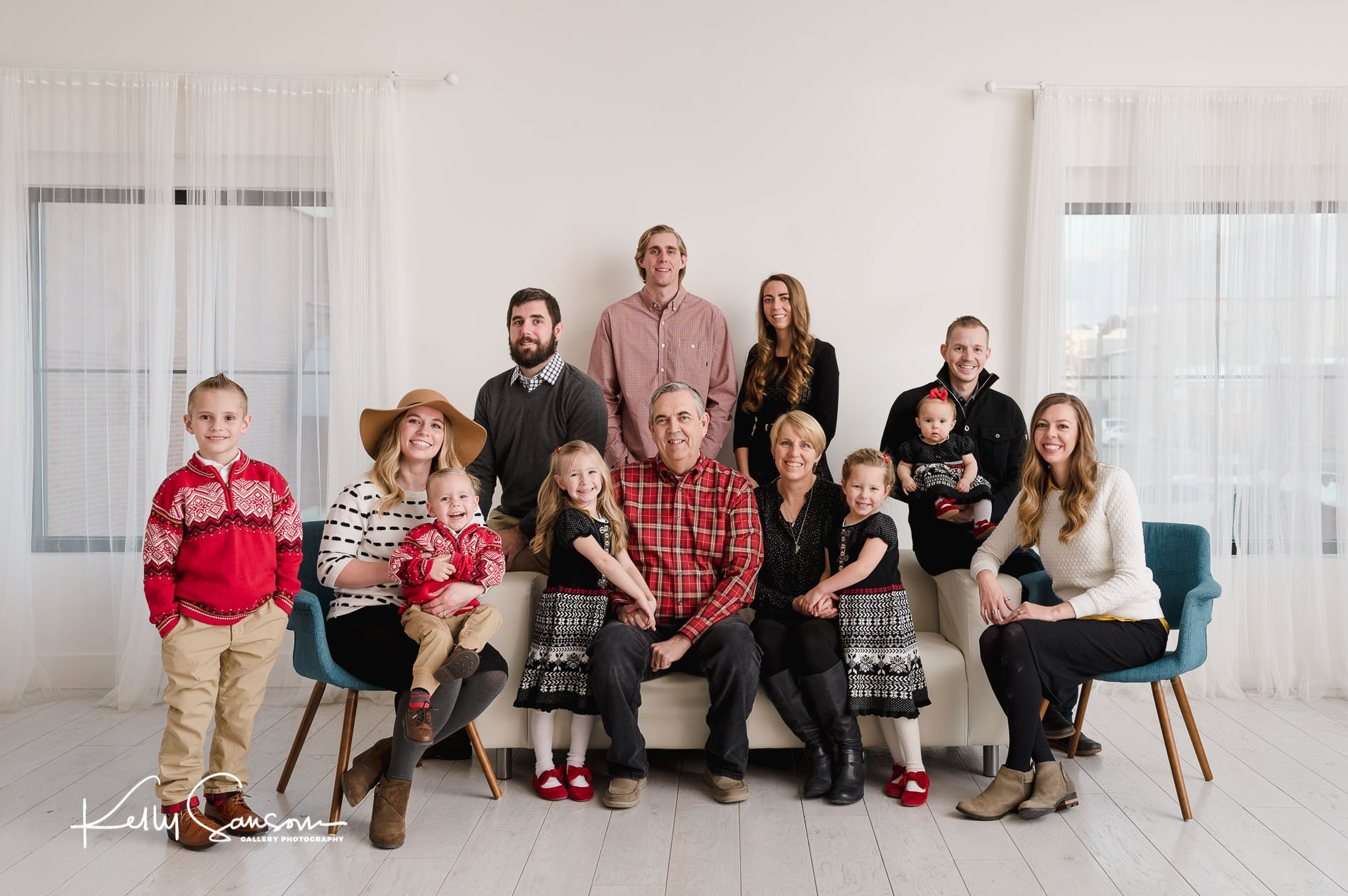 Rogers Family Photography at the White Space Studio