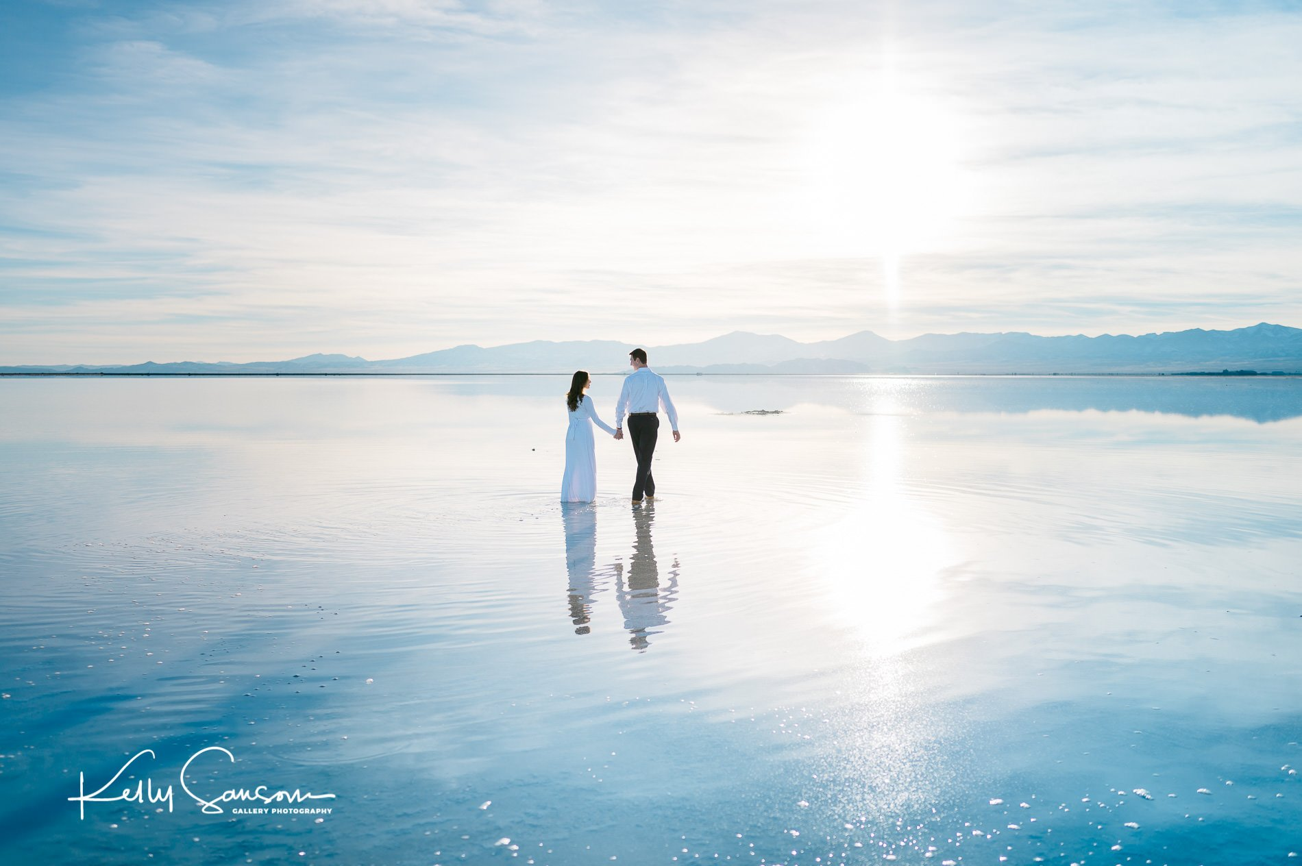 Emma and Redken Engagements at the Salt Flats