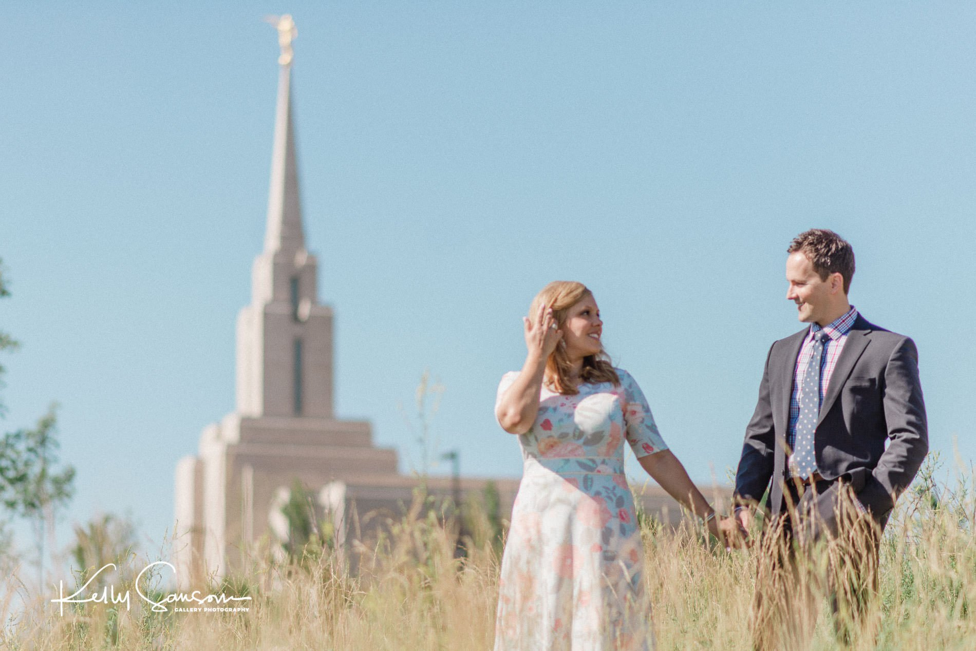 Oquirrh Mountain LDS Temple Wedding Photography - Gallery
