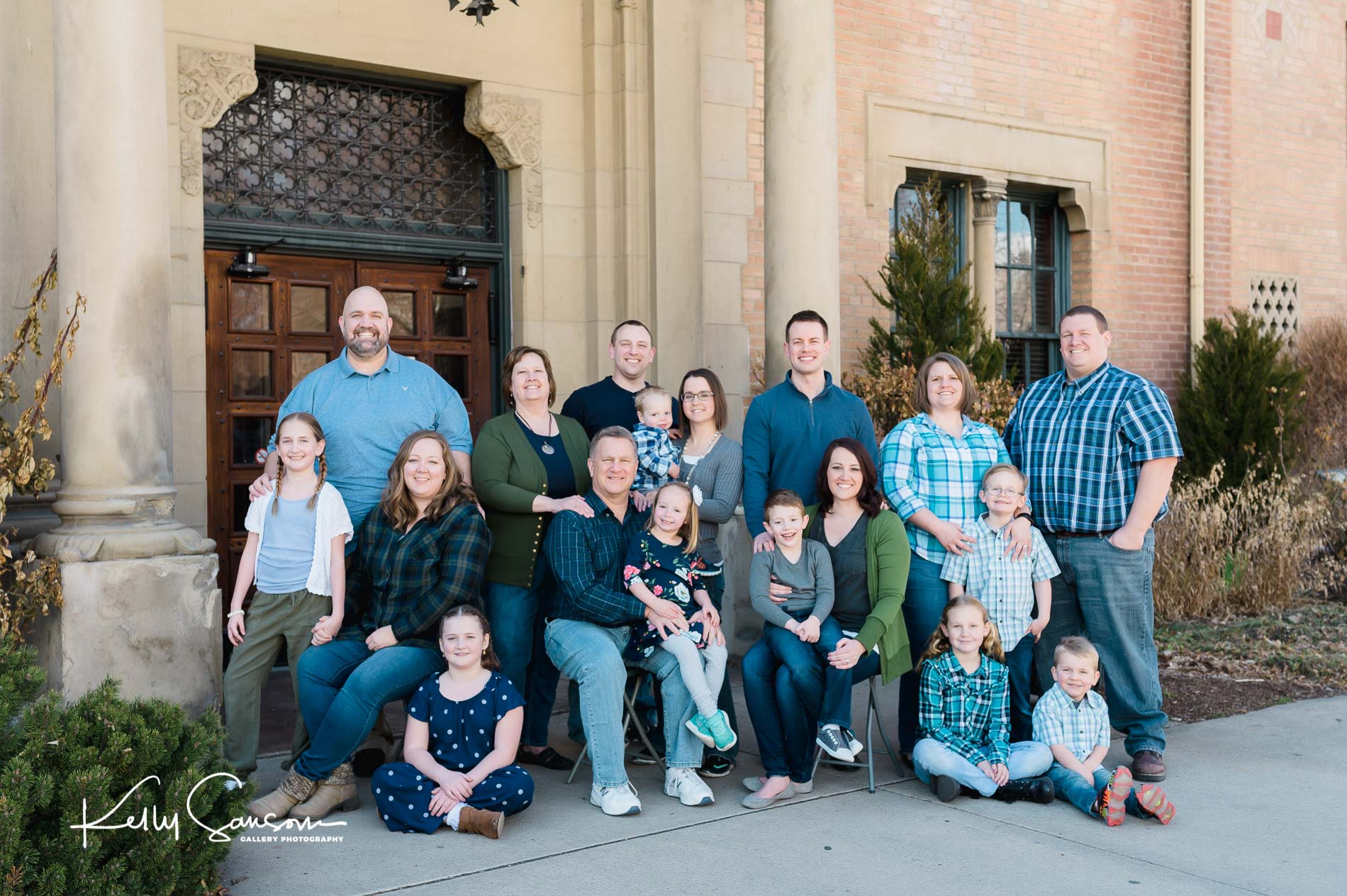 Hall Family Photography at Union Station in Ogden Utah