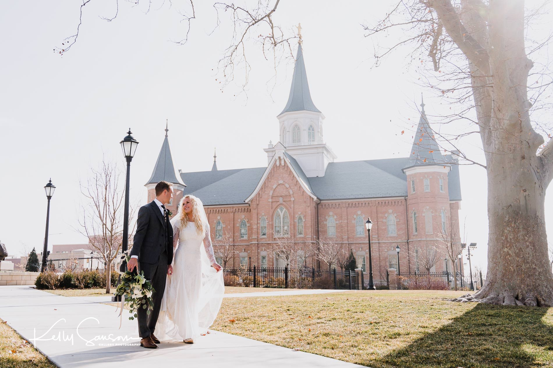 Lauren and Spencer Wedding Photography at the Provo City Center Temple and Soldier Hollow