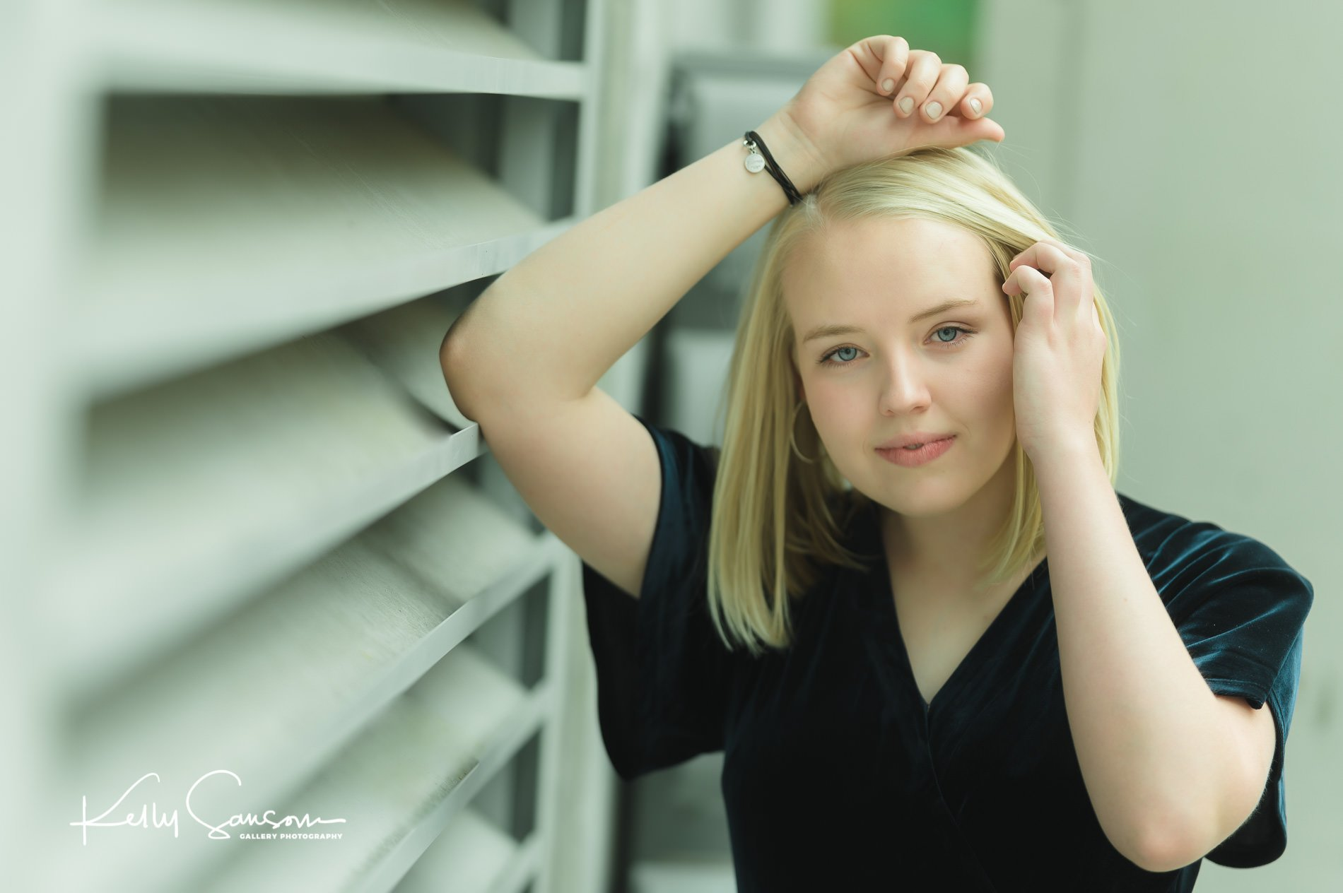 Madison's High School Senior Photography on Main Street Salt Lake City